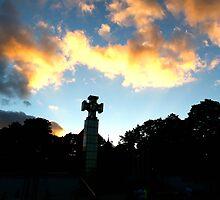 Cross. Sky. by tutulele