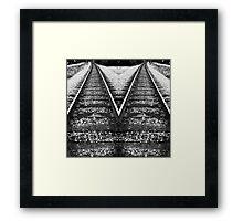 Divergent Paths Framed Print