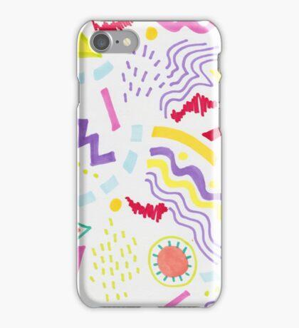 Scribble Doodle iPhone Case/Skin