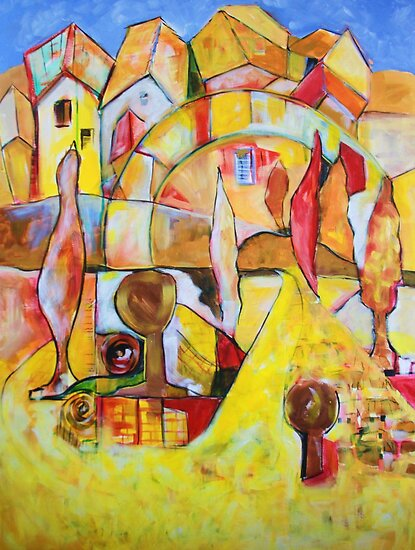 The Yellow Brick Road by Reynaldo