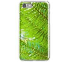 Ferns Closeup iPhone Case/Skin