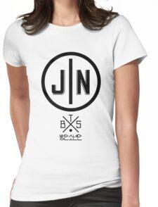 Jin - BTS Member Logo Series (Black) Womens Fitted T-Shirt