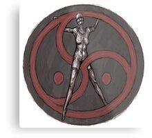 BDSM Triskelion Metal Print