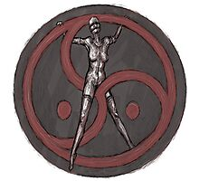 BDSM Triskelion Photographic Print