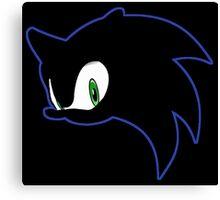 Sonic Eyes Canvas Print