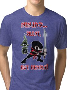 Ninjas! Tri-blend T-Shirt
