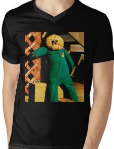 Under-the-staircrow Mens V-Neck T-Shirt