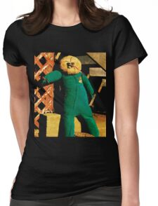 Under-the-staircrow Womens Fitted T-Shirt