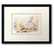 Survival in the African Bush Framed Print