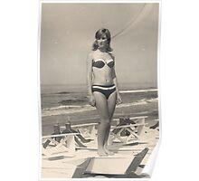 MIA SORELLA....1967..San benedetto del Tronto . Italia.EUROPA . 6500 VISUALIZZAZ..SETTEMB. 2013 - VETRINA RB EXPLORE 18 OTTOBRE 2011....... . Poster