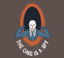 The cake is a SPY | Unisex T-Shirt