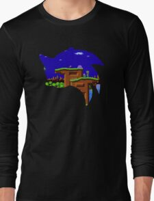 Sonic Green Hill Long Sleeve T-Shirt