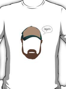 "Bobby Singer ""Idgits"" T-Shirt"