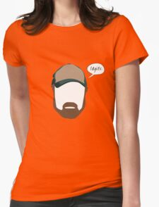 "Bobby Singer ""Idgits"" Womens Fitted T-Shirt"