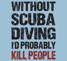 Funny Scuba Diving Shirt by DesignMC