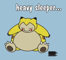 snorlax is a heavy sleeper! Kids Clothes