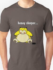 snorlax is a heavy sleeper! T-Shirt