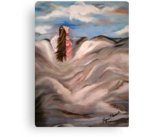 Angel Of The Hills Canvas Print