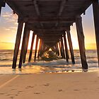 Sunset at Grange Jetty October 2011 by burrster