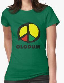 OLODUM shirt Womens Fitted T-Shirt