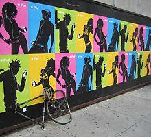 iPod Biking by Mark Roon-Reitmeier