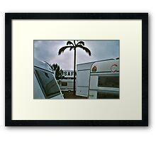 Safari Caravan 2 - Denmark Framed Print