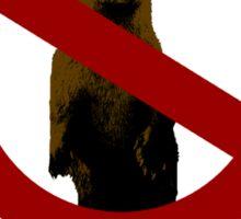 No Otters on the Flight Deck Sticker