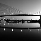 The Full Span ANZAC Bridge -Sydney by Mark  Lucey