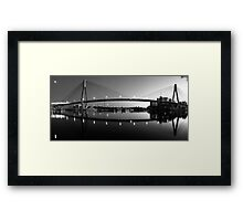 The Full Span ANZAC Bridge -Sydney Framed Print
