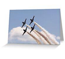 Heavy Metal Jet Team Greeting Card