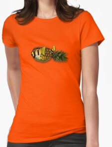 pineapple puffer phish [pppfff!!!] Womens Fitted T-Shirt