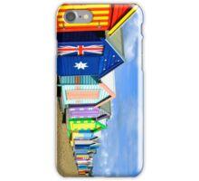 Brighton Bathing Huts iPhone Case/Skin