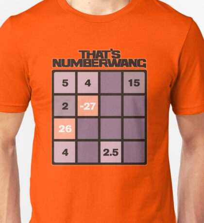 numberwang Unisex T-Shirt