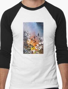 """Nandina"" Men's Baseball ¾ T-Shirt"