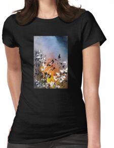 """Nandina"" Womens Fitted T-Shirt"