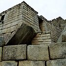 Images Of Peru - Machu Picchu (Temple Of The Sun 1) by Rebel Kreklow