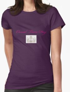 Casual Tiara Day Womens Fitted T-Shirt
