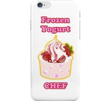 Frozen Yogurt Chef iPhone Case/Skin