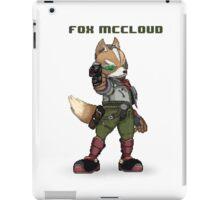 Fox McCloud - Pixelized w/ Laser iPad Case/Skin