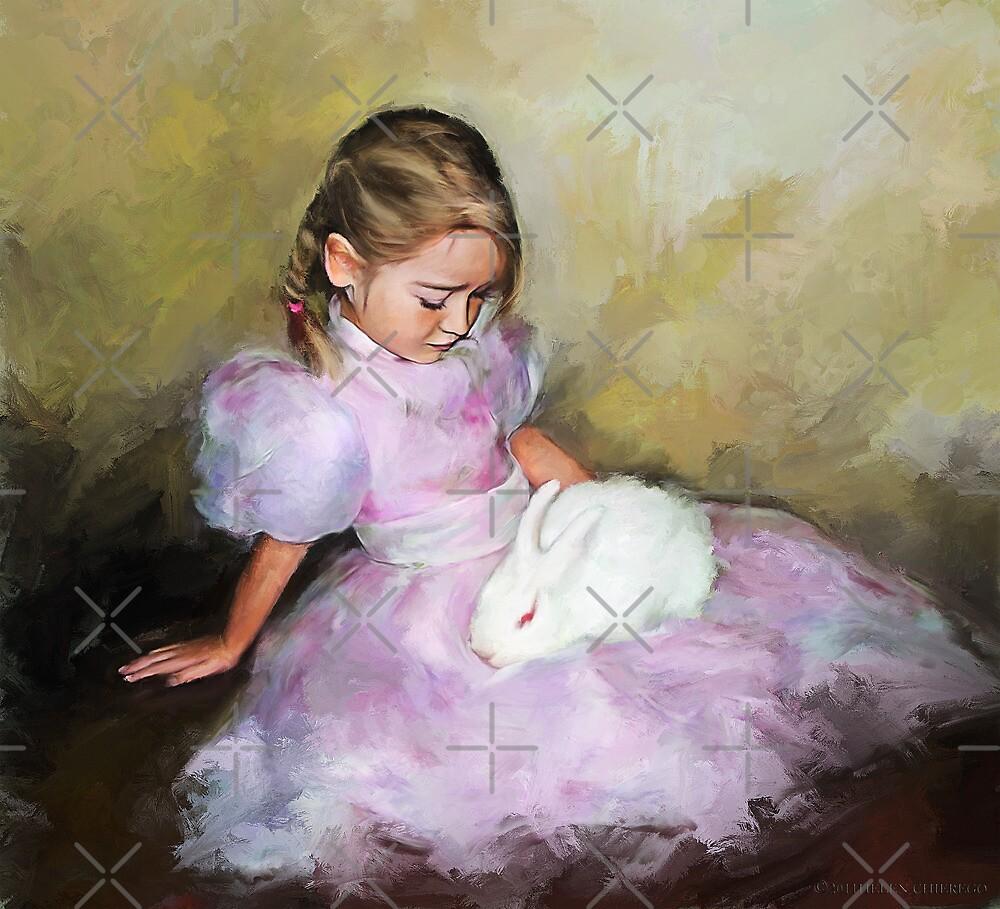 White Rabbit by © Helen Chierego