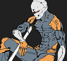 Gray Fox from MGS 1 by gallo177