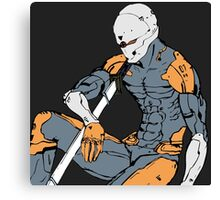 Gray Fox from MGS 1 Canvas Print