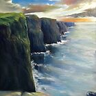 Cliffs of Moher by Roman Burgan