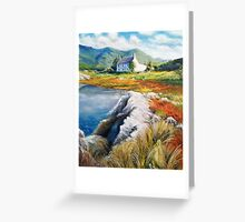 Mountain house, Kerry, Ireland Greeting Card