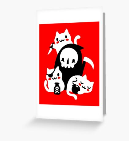 Deaths Little Helpers Greeting Card