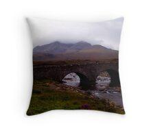 The Isle of Skye Throw Pillow