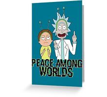 Peace Among Worlds Greeting Card