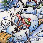 Snowboggan by Lori Lukasewich
