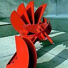 Sculpture in Red by Graeme  Hyde