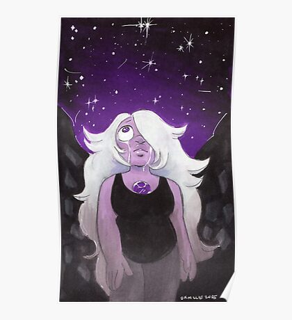 I Never Asked to be Made - Amethyst Steven Universe Poster